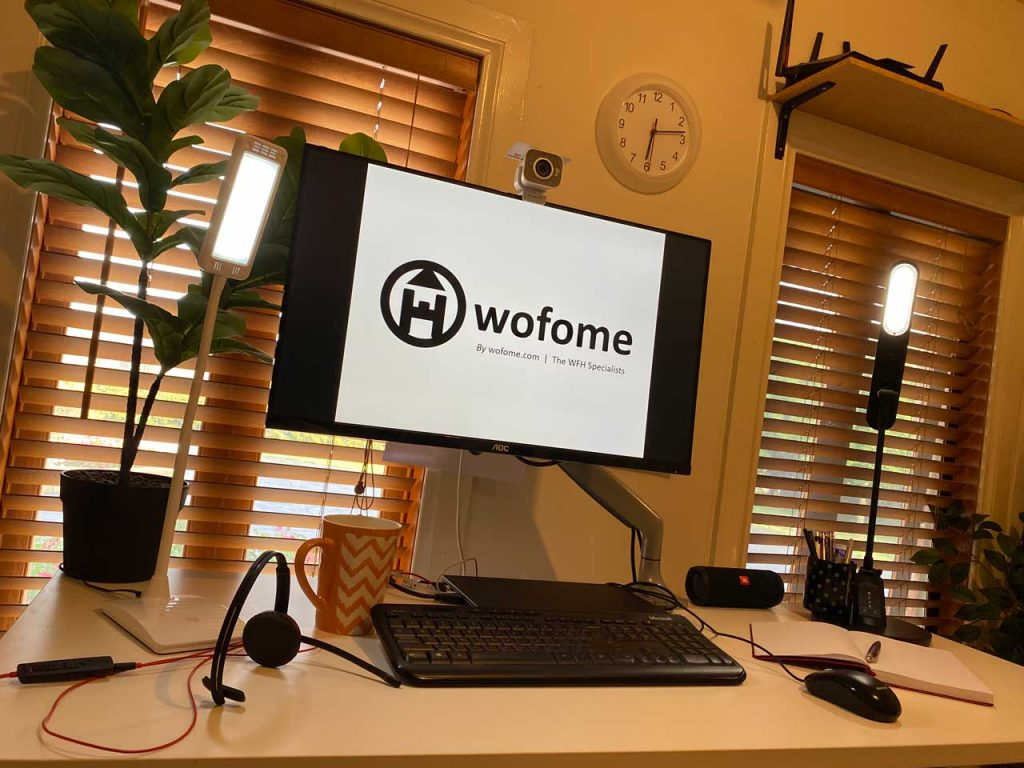 work from home setup 2