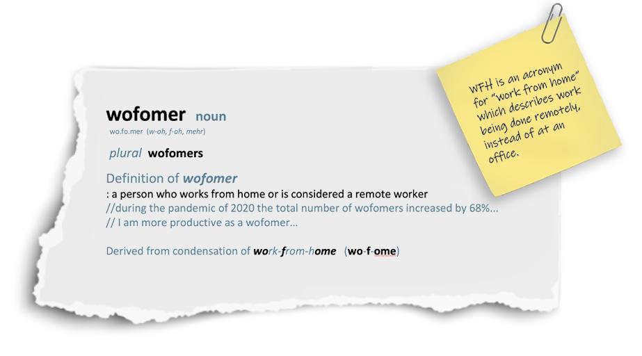 wofomer definition 4